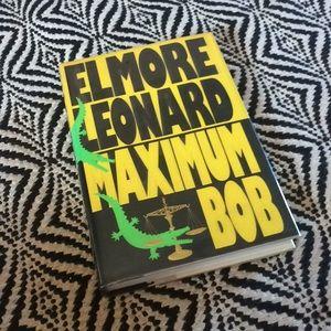 "SIGNED Elmore Leonard ""Maximum Bob"" novel NEW"